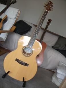James Neligan Na 30 MJ - kleine, feine Gitarre mit komplettem Holzbinding
